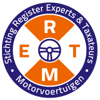 Logo Register Experts Taxateurs Motorvoertuigen