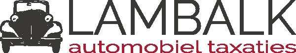Logo Lambalk Automobiel Taxaties
